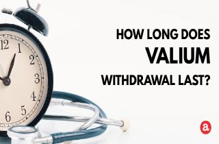 How long does Valium withdrawal last?