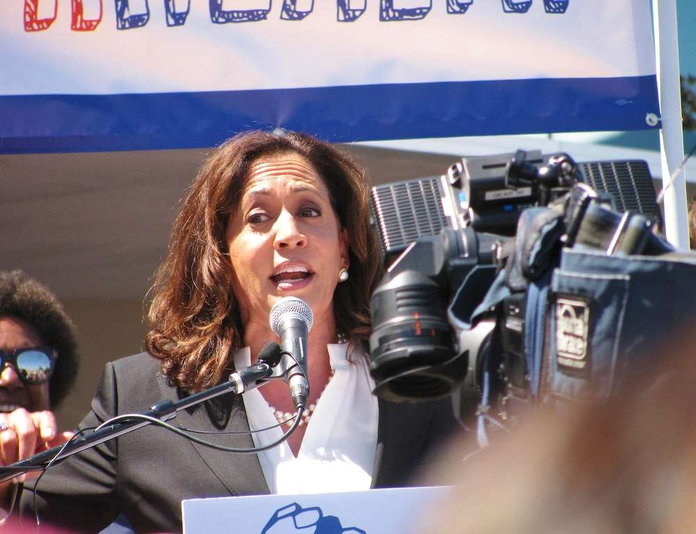 Kamala Harris Praises Illinois For Legalizing Marijuana