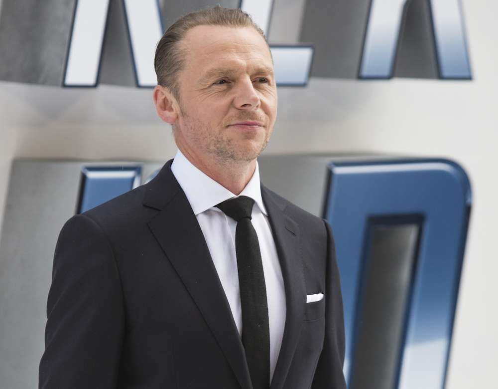 Simon Pegg: The Universe Gives Back When You Quit Drinking