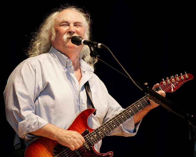 David Crosby's Surprised He's Still Alive After Addiction Battle