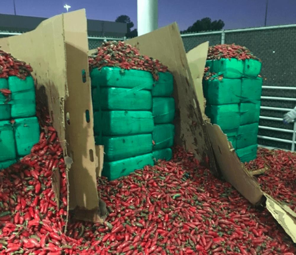 Nearly Four Tons Of Pot Found In Jalapeño Peppers