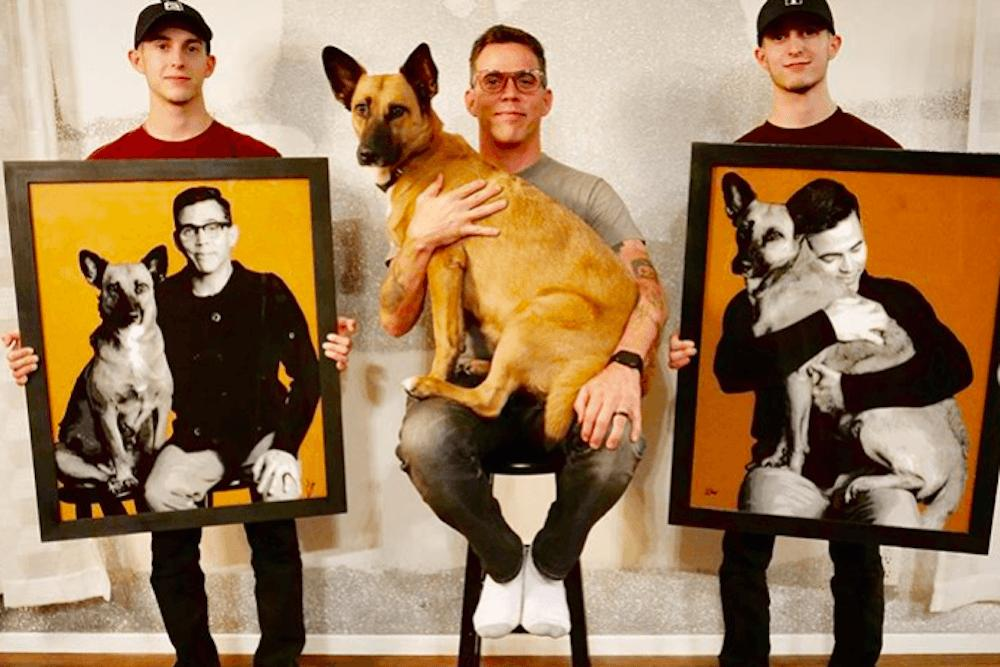 Steve-O Describes Rescue Dogs' Role In His Long-Term Recovery