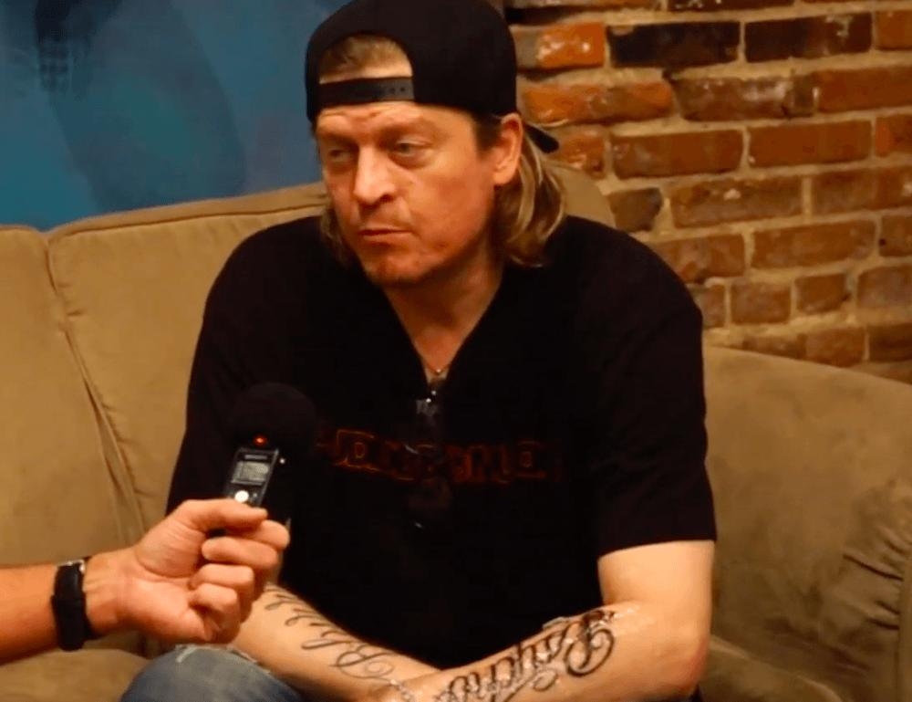 Inside Puddle of Mudd's Wes Scantlin's