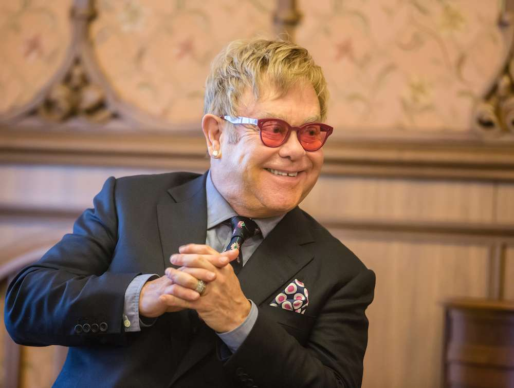 Elton John: Sobriety Lit The
