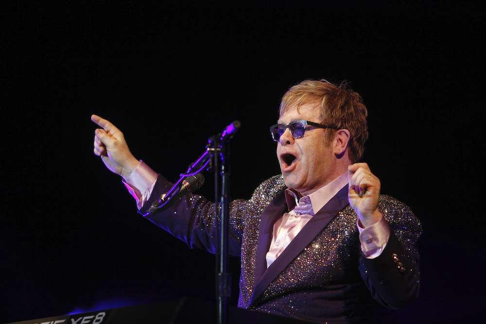 Elton John Crashed A Rolling Stones Concert While High On Cocaine