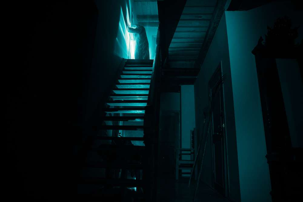 """Haunted House Depicts Chilling Reality Of """"Vicious Web Of Addiction"""""""