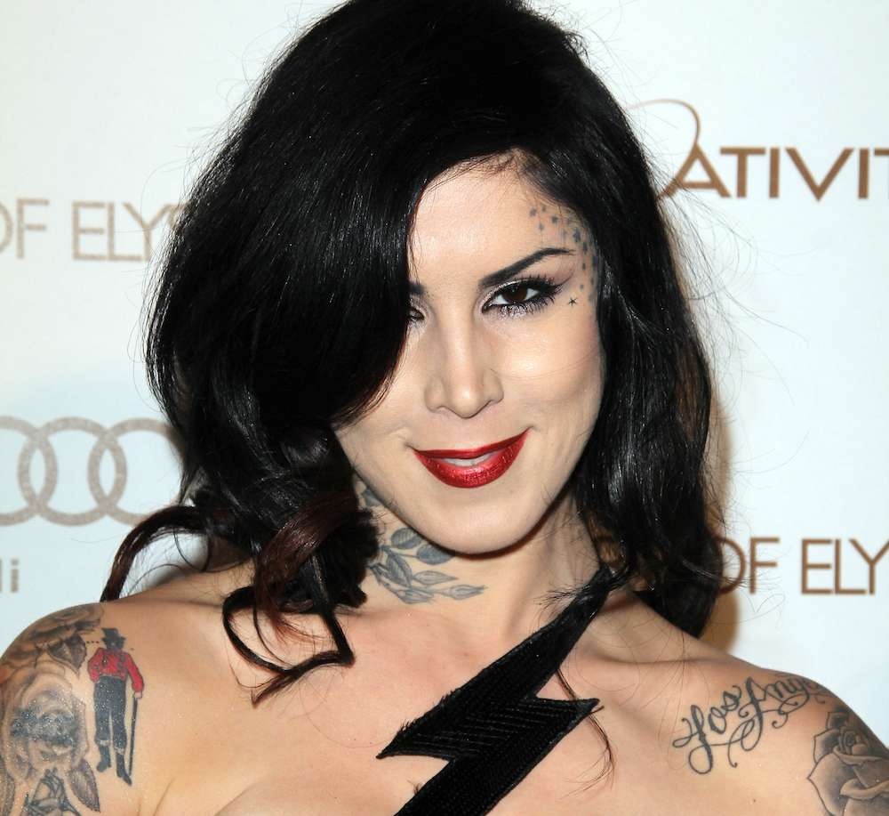 Kat Von D Visits Bam Margera In Treatment Program