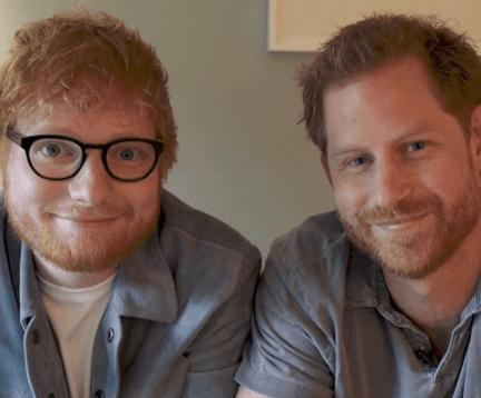 Prince Harry, Ed Sheeran Team Up To Bring Awareness To Gingers, er, Mental Health