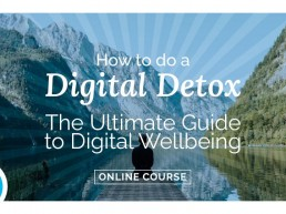Why we're launching a digital detox online course