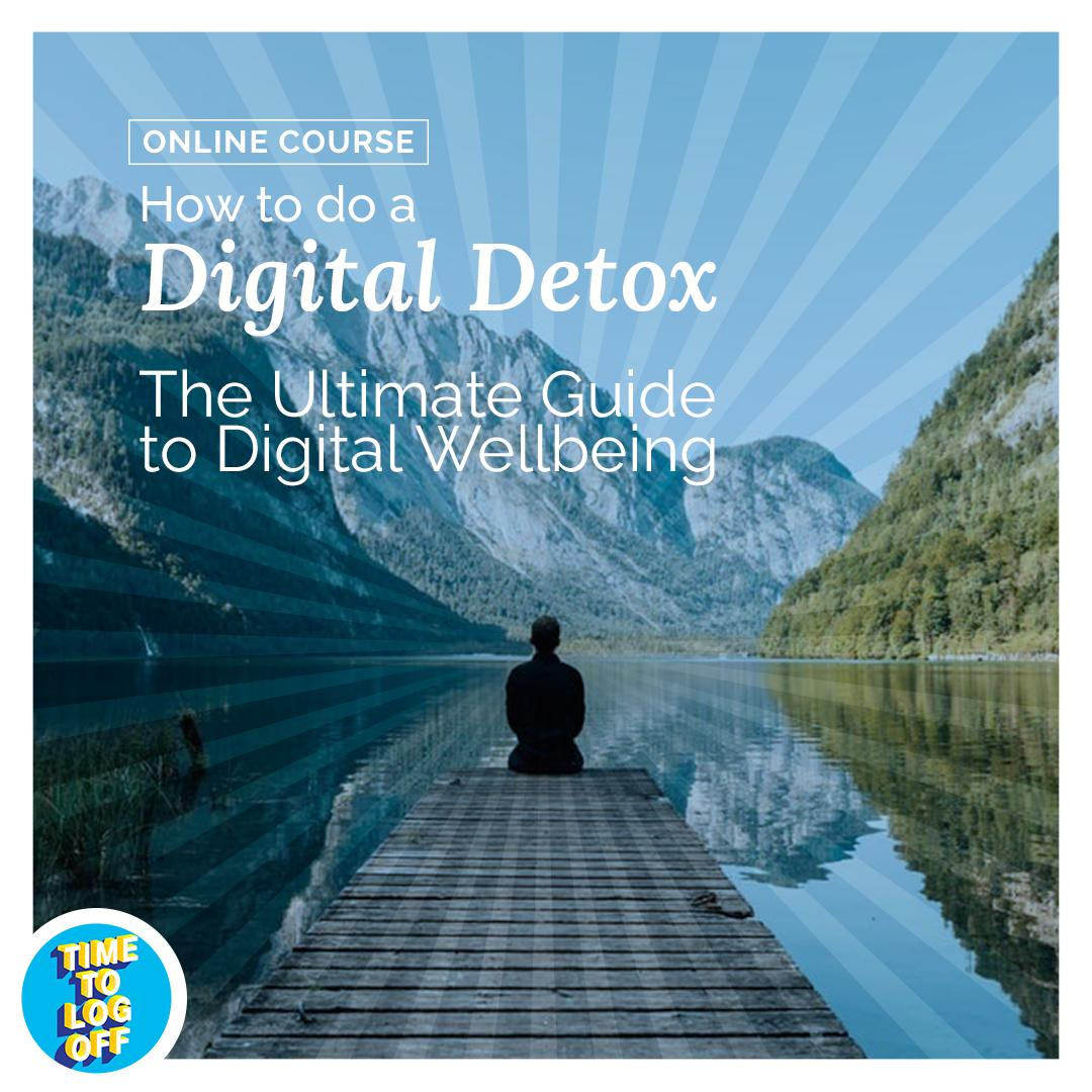 5 Reasons to do a Digital Detox Course